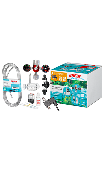 EHEIM CO2Set600 without Bottle, incl. night shut-off